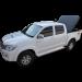Capota de Fibra Para Toyota Hilux Cabine Dupla